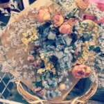 ドライフラワーの花束を1000円で販売中です!