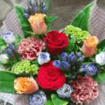 退職祝いのお花(2018年10月18日)