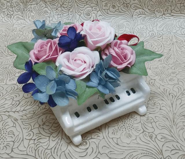 フレグランスソープフラワーとプリザーブド(2018年10月24日)