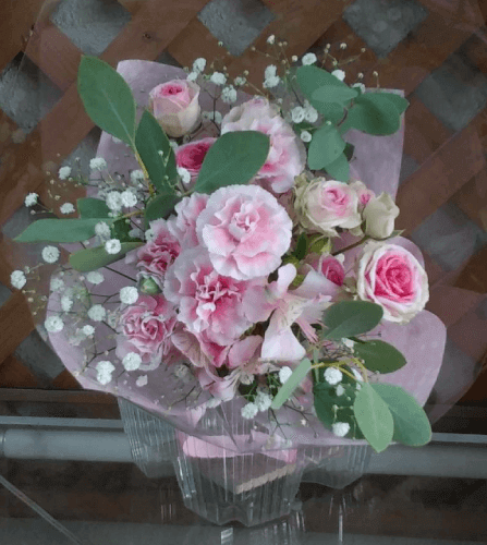 ブーケ風の花束3
