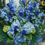 ブルーが好きな女性への誕生日プレゼント(2018年12月10日)