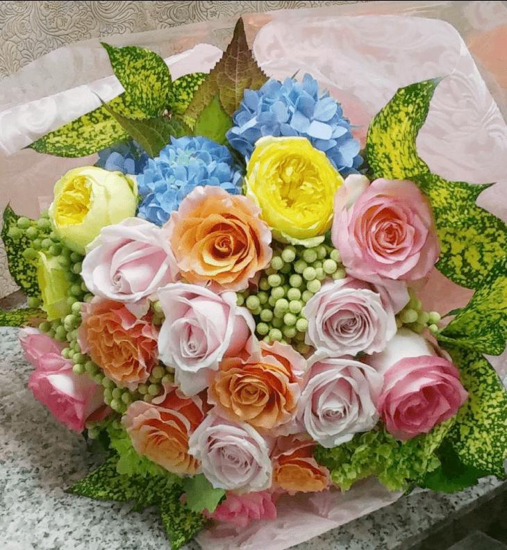 花のアトリエ大川の花束
