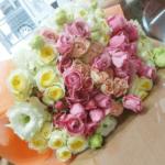 結婚25周年に贈る花束(2019年1月12日)