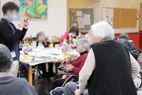 介護施設でのレクリエーション(2019年2月5日)