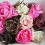 チョコレートの様なバラ