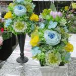 プリザーブドフラワーのお供えのお花