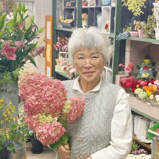 花のアトリエ大川の店主