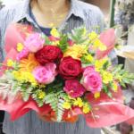 卒業コンサートへのお花