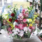 傘寿のお祝いのアレンジメント