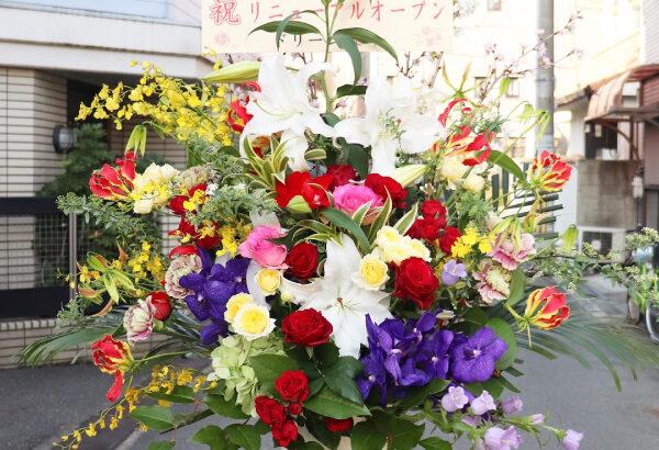 【スタンド花】カフェ・ド・モアさんがリニューアルオープンされました!