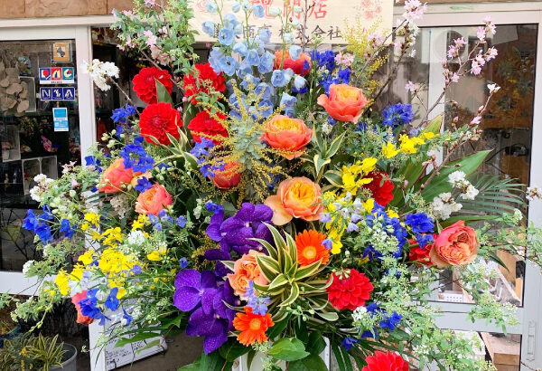 【スタンド花】ORARIさんが小阪駅近くにオープンされました!